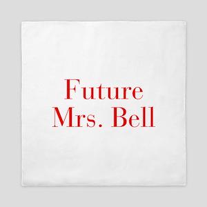 Future Mrs Bell-bod red Queen Duvet
