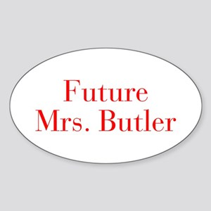 Future Mrs Butler-bod red Sticker