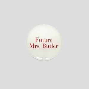 Future Mrs Butler-bod red Mini Button