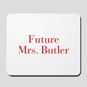 Future Mrs Butler-bod red Mousepad