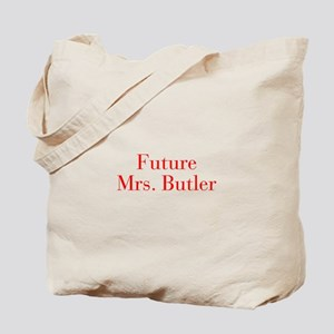 Future Mrs Butler-bod red Tote Bag