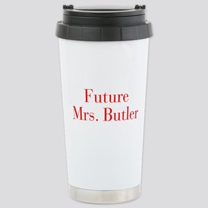 Future Mrs Butler-bod red Travel Mug