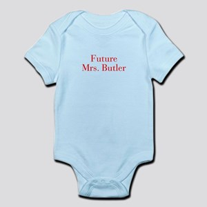 Future Mrs Butler-bod red Body Suit