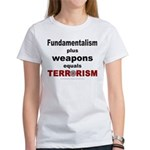 Fundamental Terror Women's T-Shirt
