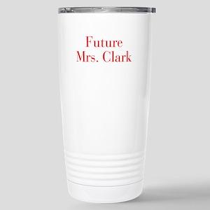 Future Mrs Clark-bod red Travel Mug