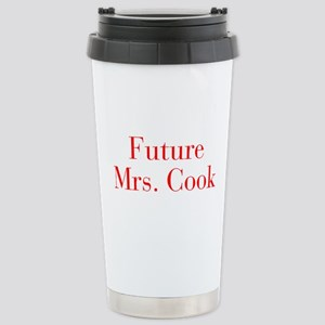 Future Mrs Cook-bod red Travel Mug