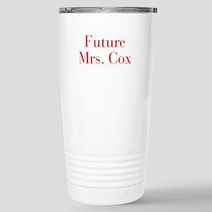 Future Mrs Cox-bod red Travel Mug
