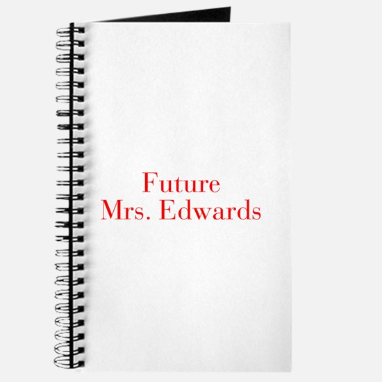 Future Mrs Edwards-bod red Journal