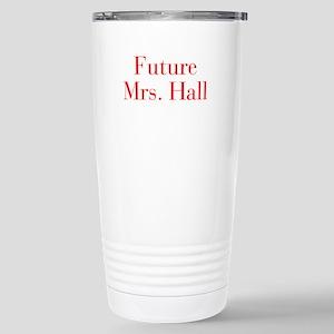 Future Mrs Hall-bod red Travel Mug