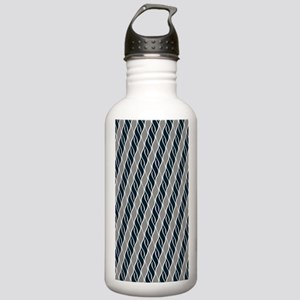 Gray and Black Stainless Water Bottle 1.0L