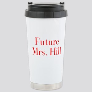 Future Mrs Hill-bod red Travel Mug