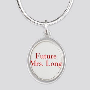 Future Mrs Long-bod red Necklaces