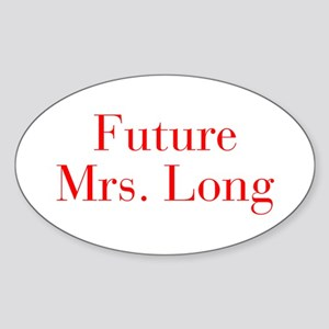 Future Mrs Long-bod red Sticker