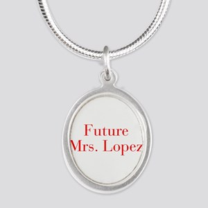 Future Mrs Lopez-bod red Necklaces