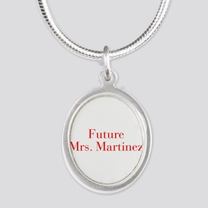 Future Mrs Martinez-bod red Necklaces