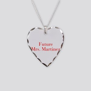 Future Mrs Martinez-bod red Necklace