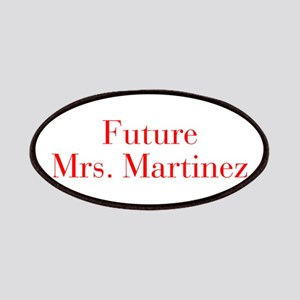 Future Mrs Martinez-bod red Patches