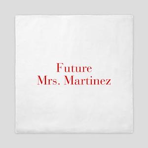 Future Mrs Martinez-bod red Queen Duvet