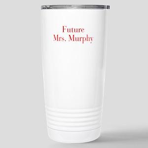 Future Mrs Murphy-bod red Travel Mug
