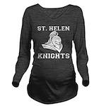 St. Helen Knights Long Sleeve Maternity T-Shirt