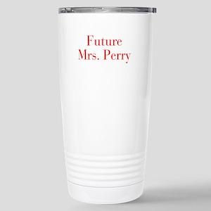 Future Mrs Peterson-bod red Travel Mug