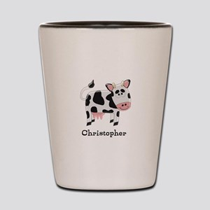 Cow Just Add Name Shot Glass