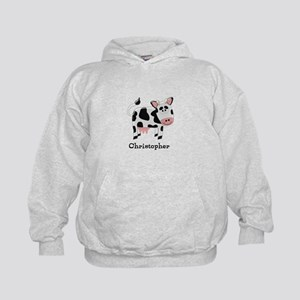 Cow Just Add Name Hoody