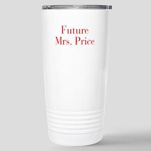 Future Mrs Price-bod red Travel Mug