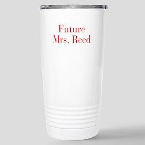 Future Mrs Reed-bod red Travel Mug