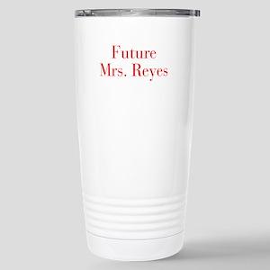 Future Mrs Reyes-bod red Travel Mug