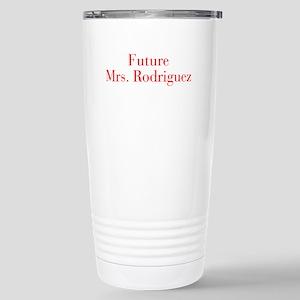Future Mrs Rodriguez-bod red Travel Mug