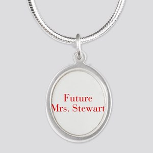 Future Mrs Stewart-bod red Necklaces