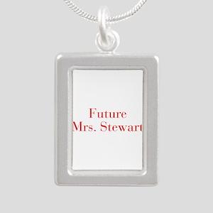 Future Mrs Stewart-bod red Necklaces