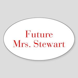 Future Mrs Stewart-bod red Sticker