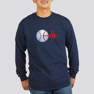 Deep Space Niners Logo Dark Long Sleeve T-Shirt