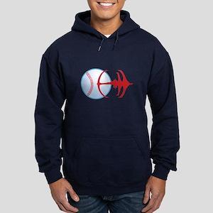 Deep Space Niners Logo Hoodie (dark)
