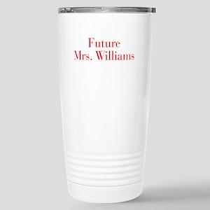 Future Mrs Williams-bod red Travel Mug