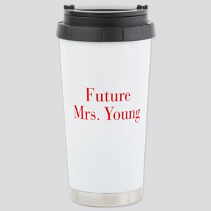Future Mrs Young-bod red Travel Mug