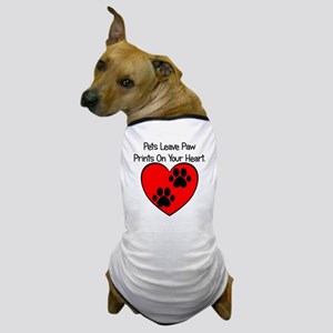 Paw Print Heart Dog T-Shirt