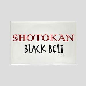 Shotokan Black Belt 1 Rectangle Magnet
