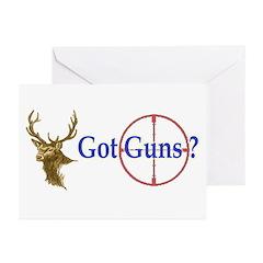 Got Guns Greeting Cards (Pk of 10)