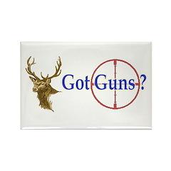Got Guns Rectangle Magnet
