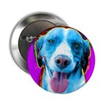 Brittany Spaniel dog Button