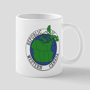 Republic of Western Canada Mugs