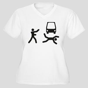 Under the Bus Plus Size T-Shirt