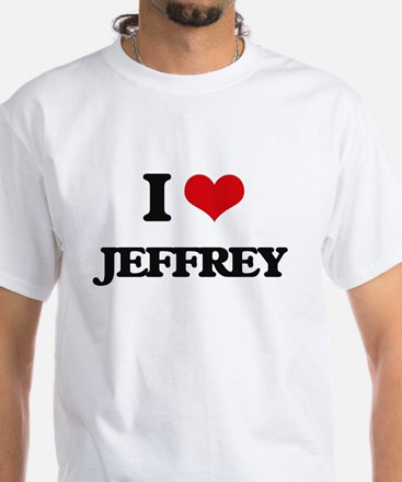 I Love Jeffrey T-Shirt