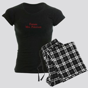 Future Mrs Peterson-bod red Pajamas