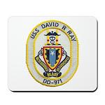 USS DAVID R. RAY Mousepad