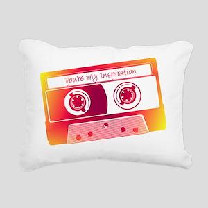 Goldbergs Mix Tape Rectangular Canvas Pillow