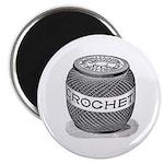 Crochet - Vintage Crochet Sil Magnet
